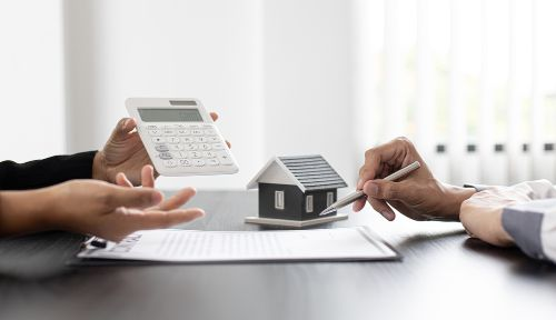 buy house with cash then get mortgage